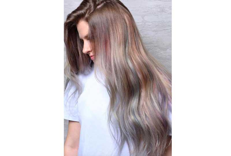 ألوان صبغات الشعر ألوان الباستيل