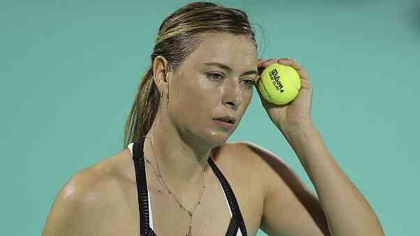 ماريا شارابوفا تعتزل التنس
