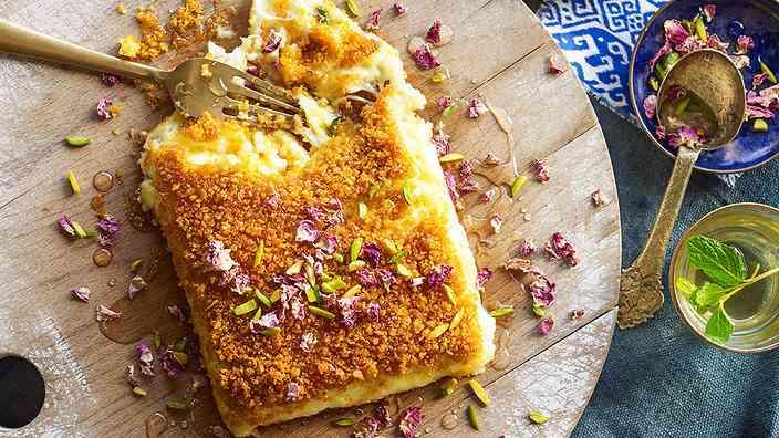 طريقة عمل الكنافة الكذابة بالجبن