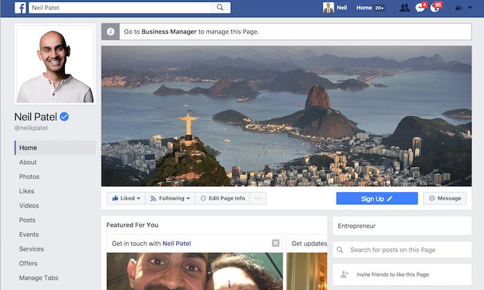 كيف تدير صفحة فيسبوك