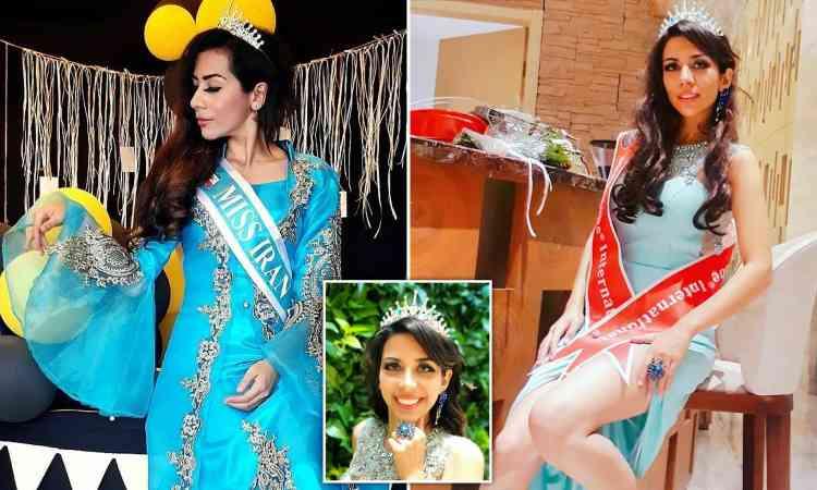 ملكة جمال إيران تلجأ إلى الفلبين
