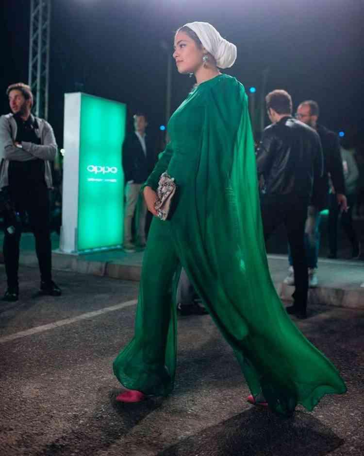 فستان سارة بهاء