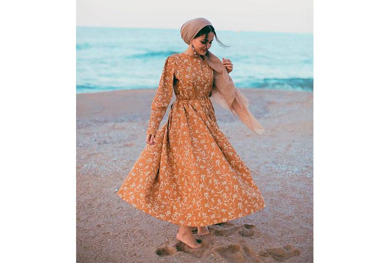 فستان محجبات للبحر