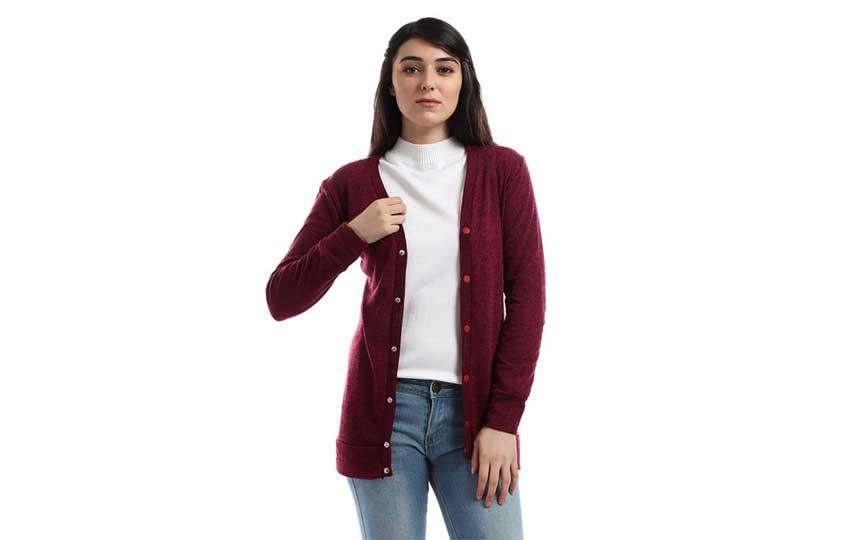 ملابس الشتاء - الكارديجان القصير