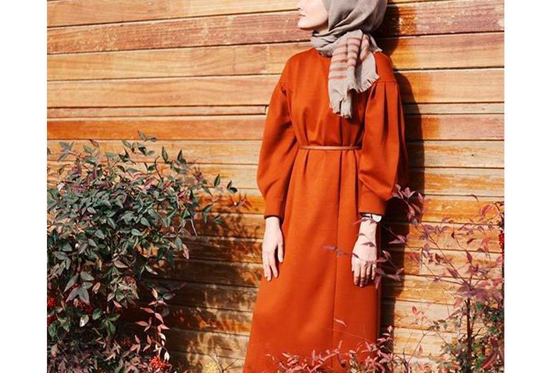 فستان واسع محجبات