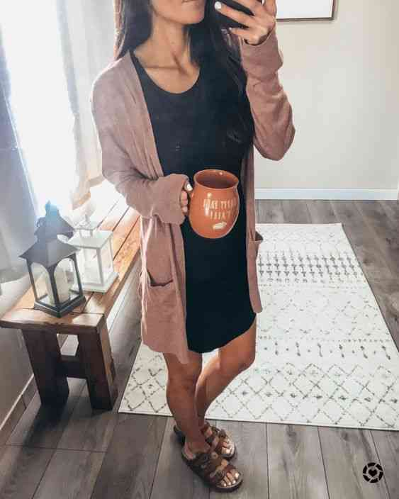 ملابس مريحة للمنزل فستان نوم قصير