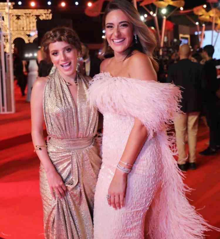 فساتين مهرجان الجونة السينمائي 2019 جميلة عوض وأمينة خليل
