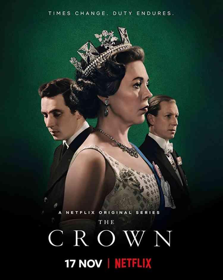 مسلسل The Crown من أهم المسلسلات البريطانية