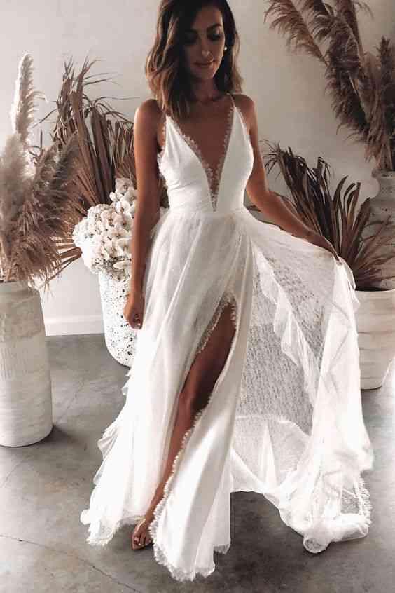 فساتين حنة فستان العروس الأبيض