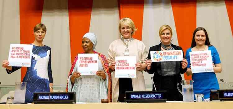 حملة مساواة الجيل لهيئة الأمم المتحدة للمرأة