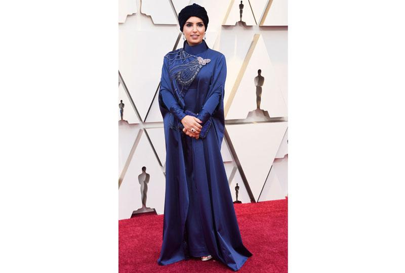 فساتين الأوسكار 2019 فستان فاطمة الريميحي