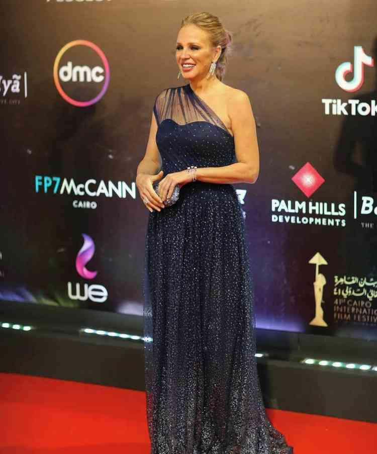 فستان شيرين رضا في مهرجان القاهرة السينمائي 2019