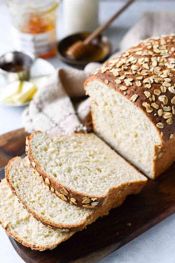 خبز الشوفان بدون خميرة