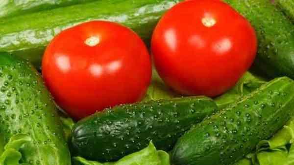 رجيم الخيار والطماطم