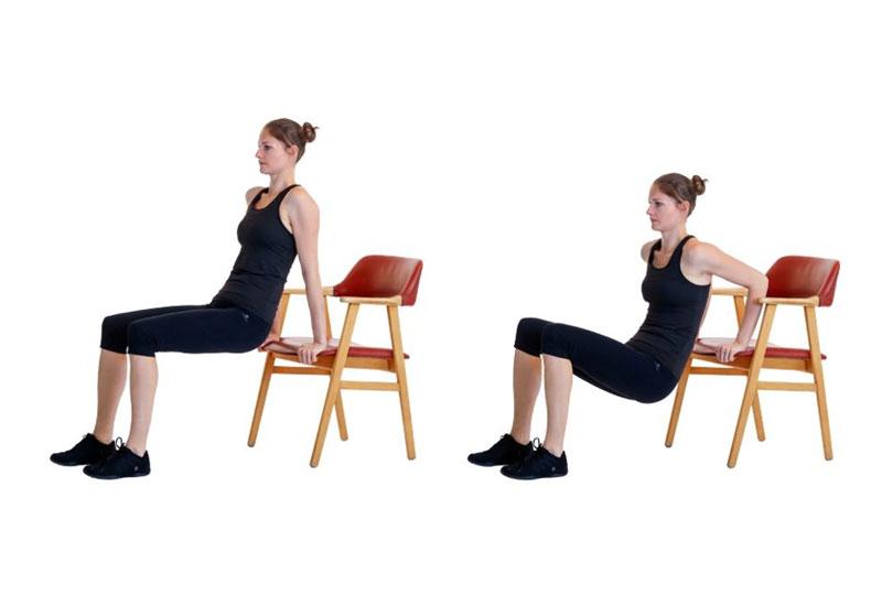 تمرين عضلة الصدر لتكبير الثدي
