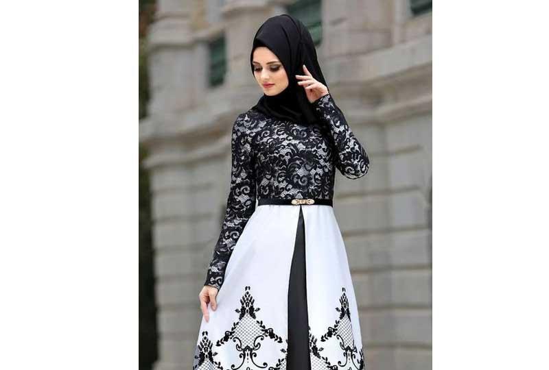 لفات طرح سواريه بالحجاب التركي باللون الأسود