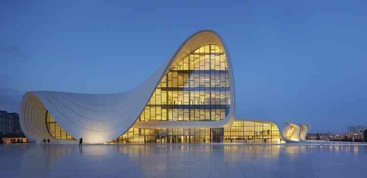 مركز حيدر علييف- أذربيجان