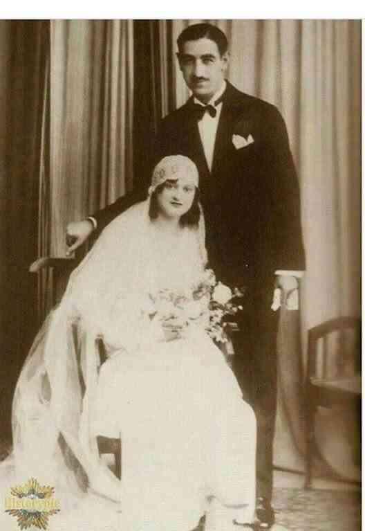 محمد حديد ووجيهة الصابونجي والدا زها حديد