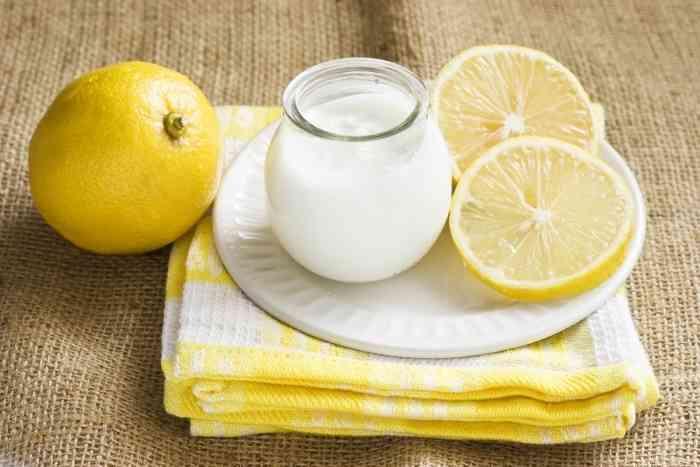 قشر الليمون للبشرة
