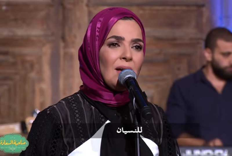 منى عبد الغني تعود للغناء