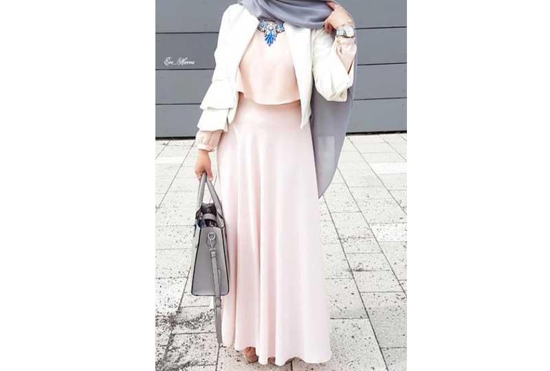 ملابس محجبات كاجوال تنورة بمبي
