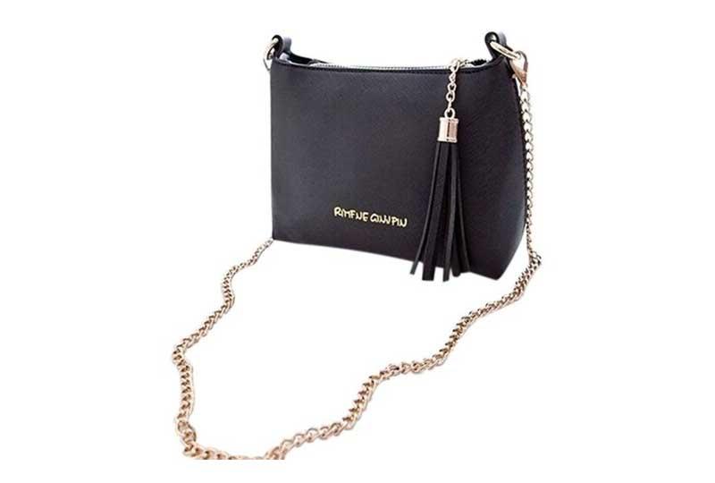 حقيبة سوداء كلاسيكية