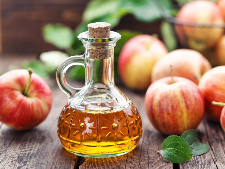 وصفات الشعر الهايش - خل التفاح