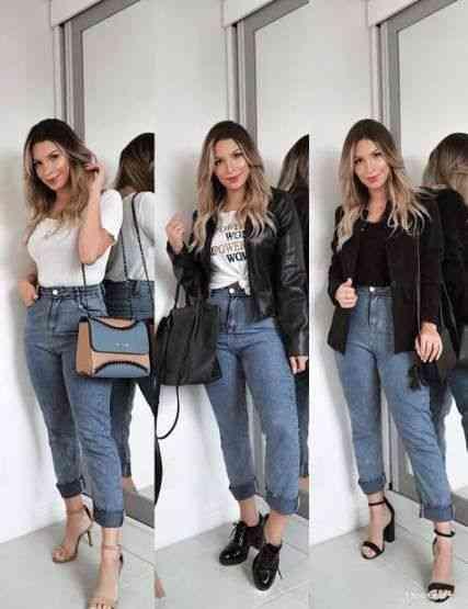 ملابس العيد بنطلون جينز واسع