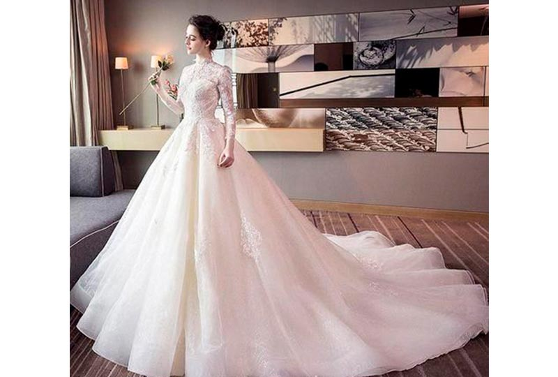 فستان فرح كبير