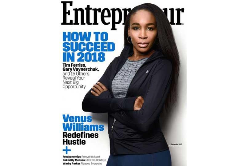 مجلة رواد الأعمال الإنجليزية