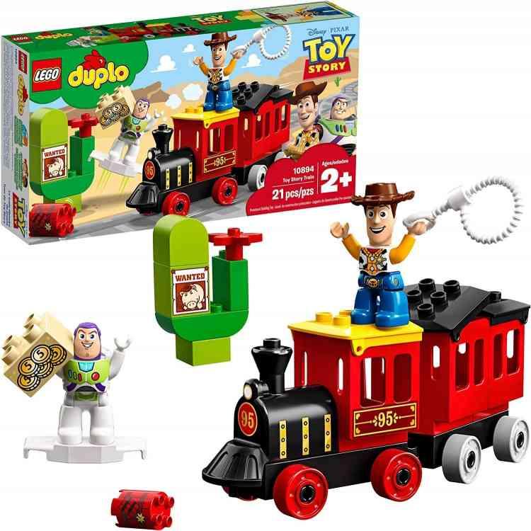 لعبة ليجو قطار توي ستوري