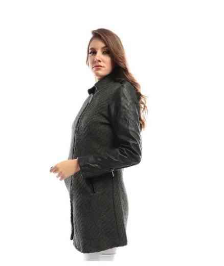 معطف أسود من ريفين