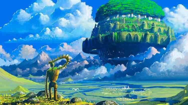 أفلام أنمي يابانية Castle in the Sky