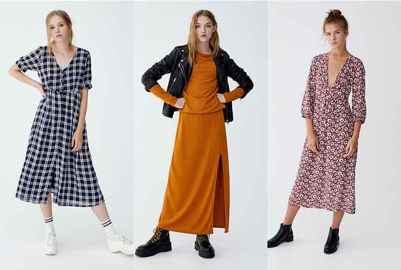 موضة شتاء 2019 الفساتين من Pull & Bear