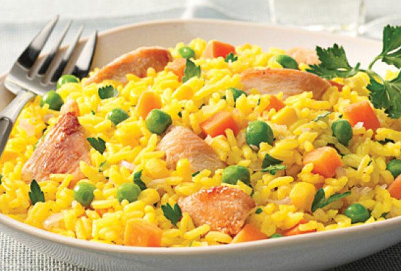 طريقة عمل الأرز البسمتي بقطع الدجاج