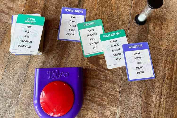 لعبة جماعية التابو