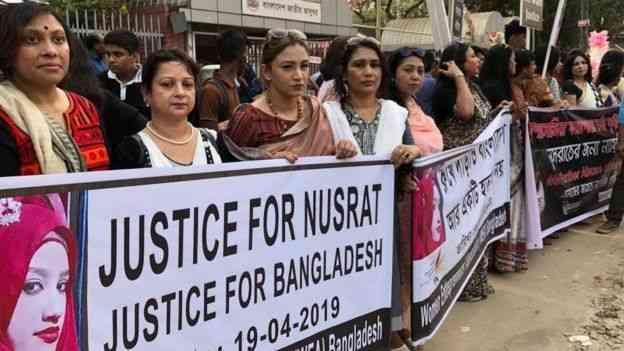 احتاجات لمناهضة التحرش في بنجلاديش