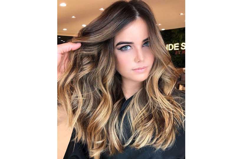 ألوان صبغات الشعر لون الكراميل