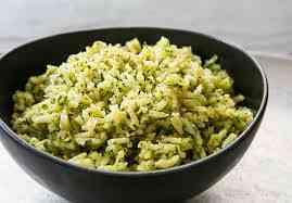 طريقة عمل الأرز البسمتي الأخضر