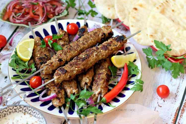 أكلات غير تقليدية في رمضان طريقة عمل كباب اللحم المشوي