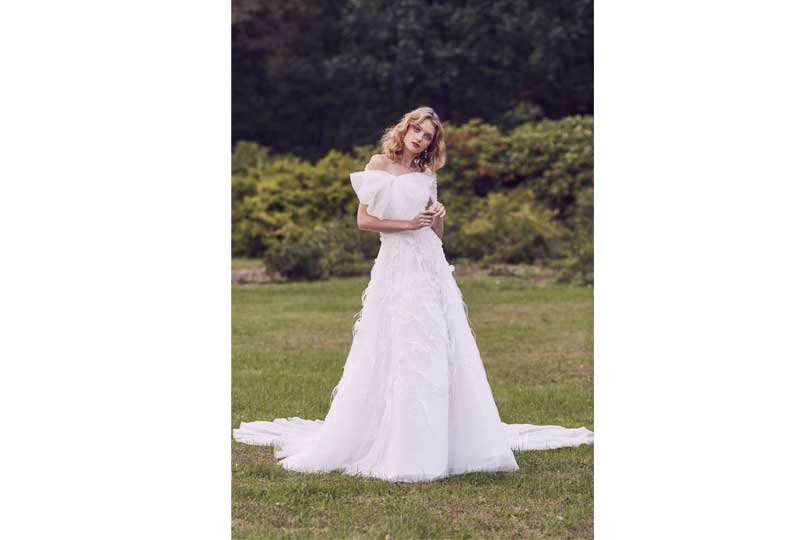 فساتين زفاف 2019 منفوشة