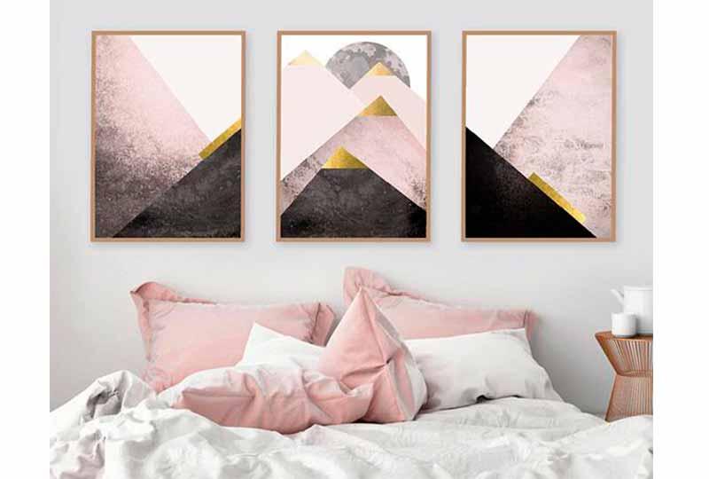 ديكورات فوق السرير