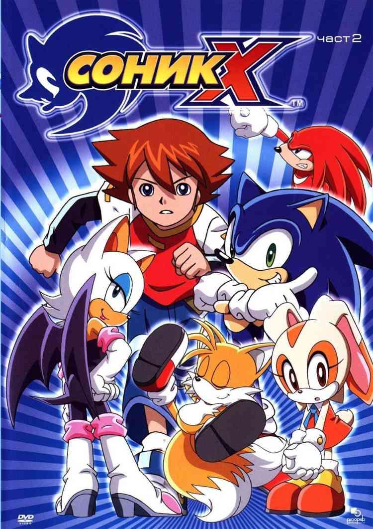 مسلسلات أنمي Sonic X