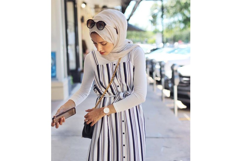 فساتين صيفي مع الحجاب