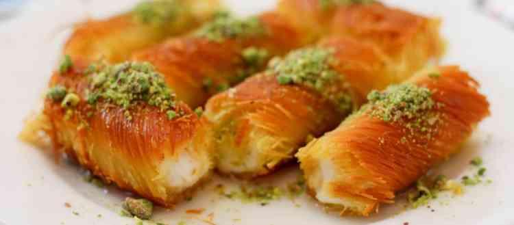 أطباق كنافة في رمضان