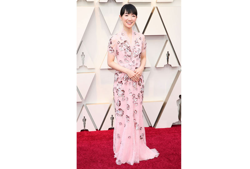 فساتين الأوسكار 2019 فستان ماري كوندو