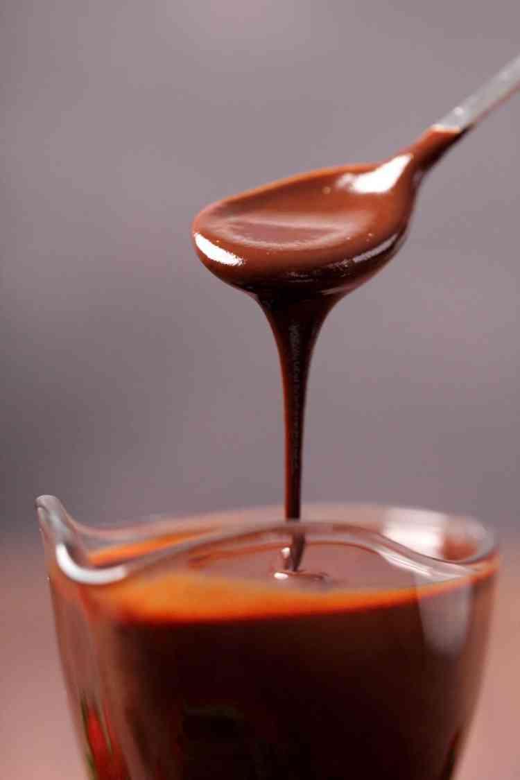 طريقة عمل صوص الشوكولاتة بالكاكو الخام