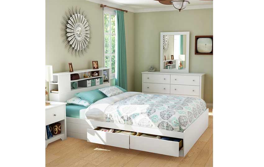 الأثاث متعدد الاستخدام في غرف النوم الصغيرة