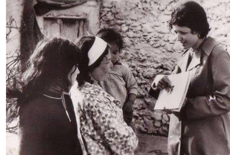 توحيدة بالشيخ أول طبيبة في العالم العريي