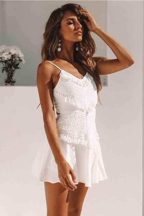 فساتين حنة للعروس بيضاء